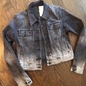 Vince black denim jacket! Size medium! NWT